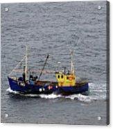 Trawling Off The Dingle Peninsula In Ireland Acrylic Print