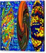Tre-blue Acrylic Print