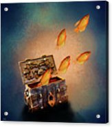 Treasure Chest Acrylic Print