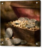 Treasure Chest Acrylic Print by Tom Mc Nemar
