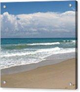 Treasure Coast Beach Florida Seascape C4 Acrylic Print