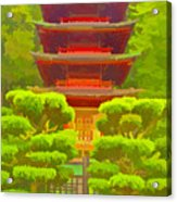 Treasure Tower Acrylic Print