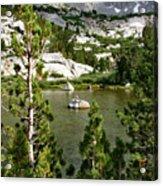 Treasures Little Island Acrylic Print