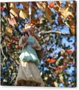 Tree Angel Acrylic Print
