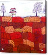 Tree Farm Acrylic Print