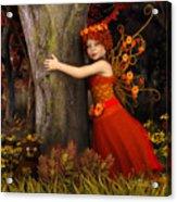 Tree Hug Acrylic Print