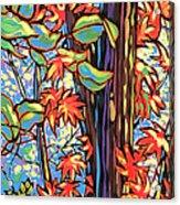 Tree Long Acrylic Print