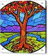 Tree Of Grace - Autumn Acrylic Print