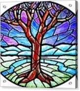 Tree Of Grace - Winter Acrylic Print