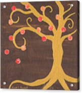 Tree Of Life - Right Acrylic Print by Kristi L Randall