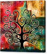 Tree Of Life Acrylic Print by Jaison Cianelli