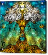 Tree Of Life Acrylic Print by Mandie Manzano