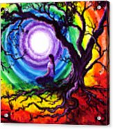 Tree Of Life Meditation Acrylic Print
