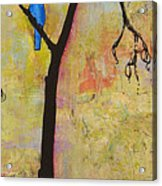 Tree Print Triptych Section 3 Acrylic Print by Blenda Studio