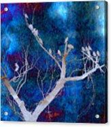 Tree Top Flock Acrylic Print