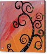 Tree V Wr Acrylic Print