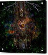 Tree Wizard Acrylic Print
