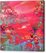 Trees 67 Acrylic Print