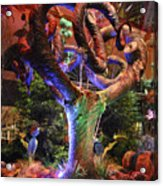 Trees Of Bellagio Acrylic Print