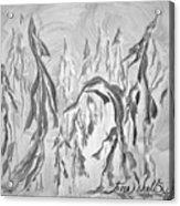 Trees Shelter Acrylic Print