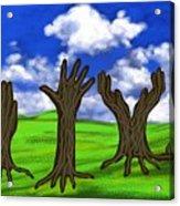 Trees #0078 Acrylic Print
