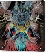 Treewoman Awakens Acrylic Print