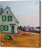 Trehaus Acadia Maine Acrylic Print