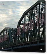 Trenton Makes.... Acrylic Print