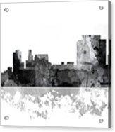 Trenton New Jersey Skyline Acrylic Print
