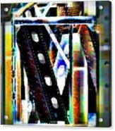 Trestle Detail Bright Acrylic Print