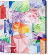 Trey Anastasio-never Get Out Of This Maze Acrylic Print by Joshua Morton