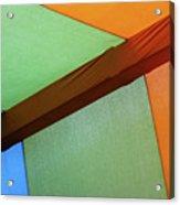 Tri Color Minimal  Acrylic Print