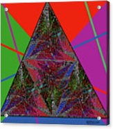 Triangular Thoughts Acrylic Print