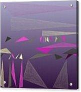 Triangulation 8-15-2015 #7 Acrylic Print