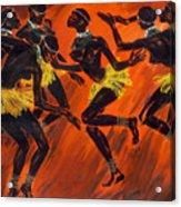 Tribal Dance Acrylic Print
