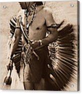 Tribal Dancer Acrylic Print