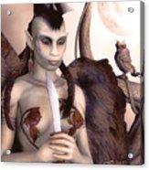 Tribal Elf Acrylic Print