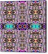 Trendy Tribal Acrylic Print