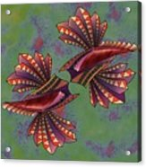Tribal Sea Creature 1 Acrylic Print