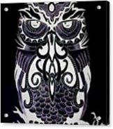 Tribeowl Reverse Acrylic Print