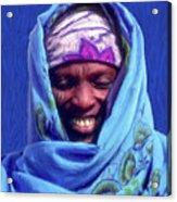 Tribesman Acrylic Print