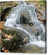 Tributary Of Lost River - Woodstock New Hampshire  Acrylic Print