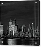 Tribute In Light  # 7 - B  And  W Acrylic Print