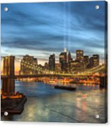 Tribute In Light I Acrylic Print by Clarence Holmes