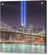 Tribute In Light IIi Acrylic Print by Clarence Holmes