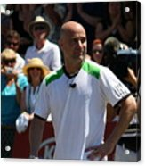 Tribute To Agassi Acrylic Print