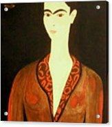 Tribute To Frida Acrylic Print