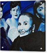Tribute To Lena Horne Acrylic Print