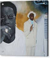 Tribute To Mr. Bernie Mac Acrylic Print