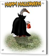 Trick Or Treat For Count Duckula Acrylic Print
